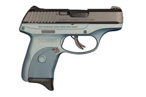 Ruger Pistol: Semi-Auto LC9s Blue Titanium - Click to see Larger Image