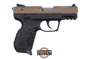 Ruger Pistol: Semi-Auto SR22PB Rimfire Pistol Davidsons Exclusive - Click to see Larger Image