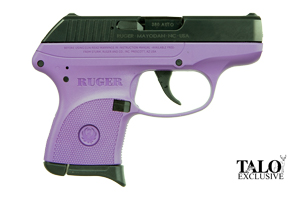 Ruger Pistol: Semi-Auto LCP Ruger Lady Lilac Talo Edition - Click to see Larger Image