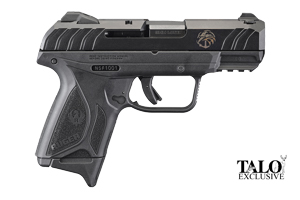 Ruger Pistol: Semi-Auto Security 9 Compact Navy Seals Foundation - Click to see Larger Image