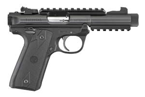 Ruger Pistol: Semi-Auto Mark IV 22/45 Tactical - Click to see Larger Image
