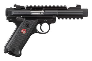 Ruger Pistol: Semi-Auto Mark IV Tactical - Click to see Larger Image