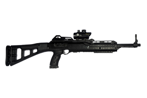 Hi-Point Firearms Rifle: Semi-Auto Carbine TS (Target Stock) with Red Dot Scope - Click to see Larger Image