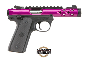 Ruger Pistol: Semi-Auto Mark IV 22/45 Lite Purple - Click to see Larger Image