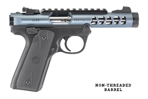 Ruger Pistol: Semi-Auto Mark IV 22/45 Non-Threaded Model - Click to see Larger Image