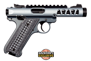 Ruger Pistol: Semi-Auto Mark IV Lite Davidsons Exclusive - Click to see Larger Image