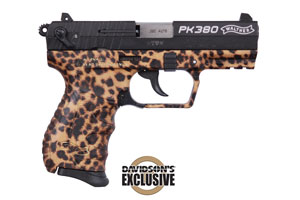 Walther Arms Inc Pistol: Semi-Auto PK380 Cheetah, Davidson's Exclusive - Click to see Larger Image