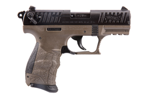 Walther Arms Inc Pistol: Semi-Auto P22 FDE California Approved - Click to see Larger Image