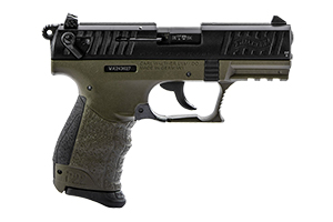 Walther Arms Inc Pistol: Semi-Auto P22Q Military Model - Click to see Larger Image
