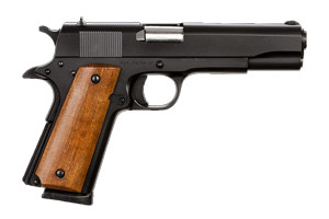 Armscor|Rock Island Armory M1911-A1 GI Standard FS Duracoat Single Action 45AP Black Duracoat