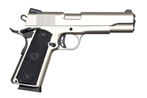 Armscor|Rock Island Armory Pistol: Semi-Auto M1911-A1 ROCK Standard FS Matte Nickel - Click to see Larger Image