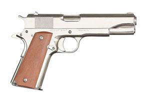 Armscor|Rock Island Armory M1911-A1 GI Standard FS Nickel Single Action 45AP Nickel