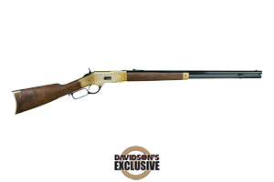 Winchester Repeating Arms Rifle: Lever Action 1866 Short Rifle Grade IV Limited Series - Click to see Larger Image