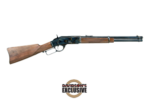 Winchester Repeating Arms Rifle: Lever Action 1873 High Grade Trapper Grade IV Limited Series - Click to see Larger Image