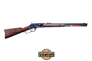 Winchester Repeating Arms Rifle: Lever Action 1873 High Grade Carbine Grade IV Limited Series - Click to see Larger Image