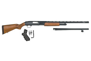Mossberg Shotgun: Pump Action Model 500 Field / Security Combo - Click to see Larger Image