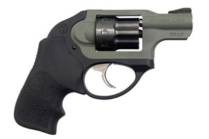 Ruger Revolver LCR22 W/ Military OD Green Frame - Click to see Larger Image