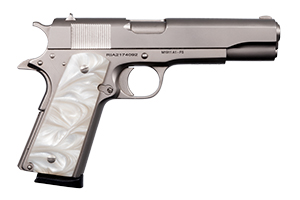 Armscor|Rock Island Armory Pistol: Semi-Auto M1911-A1 GI Standard FS Matte Nickel - Click to see Larger Image