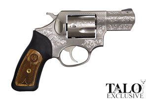 Ruger Revolver: Double Action SP101 Model KSP-321XEN Special Edition Premier - Click to see Larger Image