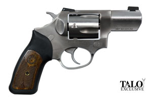 Ruger sp101 wiley clapp talo edition double action 357 stainless steel