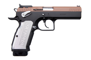 European American Armory Witness Stock II Xtreme Double Action 9MM Blue and Brown 2-Tone Finish