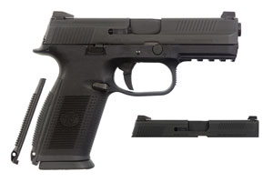 FNH USA Semi-Automatic Pistol FNS-9|40 Combo Kit Gun - Click to see Larger Image