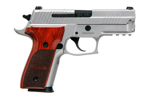 Sig Sauer Pistol: Semi-Auto P229 Stainless Elite Mid-Size - Click to see Larger Image
