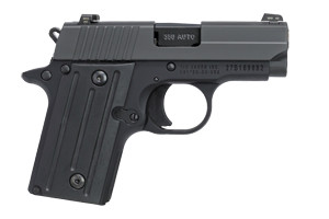 Sig Sauer Pistol: Semi-Auto P238 Nitron - Click to see Larger Image
