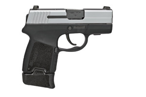 Sig Sauer Pistol: Semi-Auto P290RS 2-Tone Sub-Compact - Click to see Larger Image