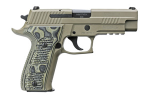 Sig Sauer Pistol: Semi-Auto P226 Scorpion Full Size - Click to see Larger Image