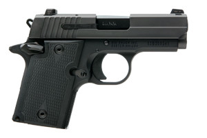 Sig Sauer Pistol: Semi-Auto P938 Nitron Microcompact - Click to see Larger Image
