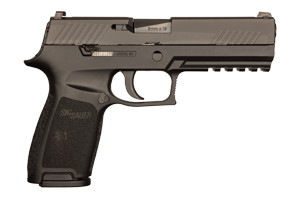 Sig Sauer Pistol: Semi-Auto P320 Nitron Full Size - Click to see Larger Image