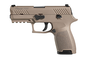 Sig Sauer Pistol: Semi-Auto P320 Flat Dark Earth Compact - Click to see Larger Image