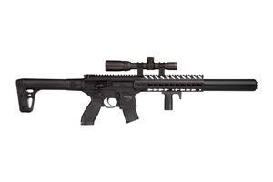 Sig Sauer Rifle: Air Gun MCX Air Gun With Scope - Click to see Larger Image