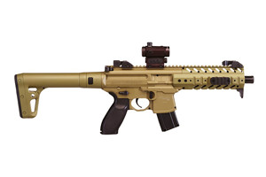 Sig Sauer Rifle: Air Gun MPX MRD (Mini Red Dot) SIG 20R Air Gun - Click to see Larger Image