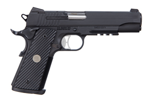 Sig Sauer Pistol: Semi-Auto 1911 TacOps Full Size - Click to see Larger Image