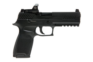 Sig Sauer Pistol: Semi-Auto P320 RX Romeo 1 Included - Click to see Larger Image