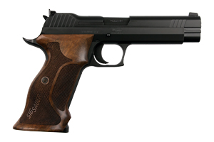 Sig Sauer Pistol: Semi-Auto P210 Target Full Size - Click to see Larger Image