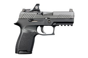 Sig Sauer Pistol: Semi-Auto P320C RX Romeo 1 Included - Click to see Larger Image