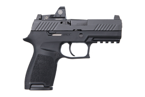 Sig Sauer Pistol: Semi-Auto P320 Nitron Compact W/ Romeo1 Reflex Sight - Click to see Larger Image