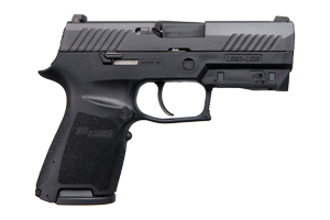 Sig Sauer Pistol: Semi-Auto P320 Lima Green - Click to see Larger Image