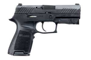 Sig Sauer Pistol: Semi-Auto P320 Lima Red - Click to see Larger Image
