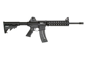 Smith & Wesson Rifle M&P15-22 Threaded Barrel with A1 Style Comp - Click to see Larger Image