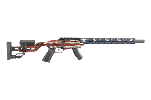 Ruger Rifle: Bolt Action Ruger Precision Rimfire Rifle American Flag - Click to see Larger Image