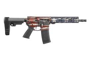 Ruger Pistol: Semi-Auto AR-556 Pistol American Flag - Click to see Larger Image