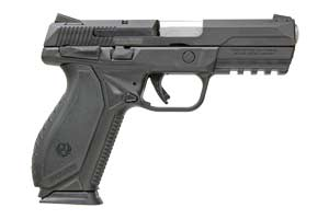 Ruger Pistol: Semi-Auto American Pistol With Manual Safety - Click to see Larger Image
