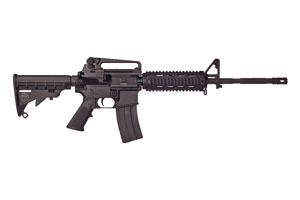 Bushmaster XM15 A3 M4 Type Carbine Quad Rail Semi-Automatic 5.56 NATO|223 Black Matte