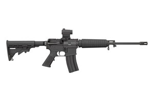 Bushmaster Rifle: Semi-Auto Quick Response Carbine - Click to see Larger Image