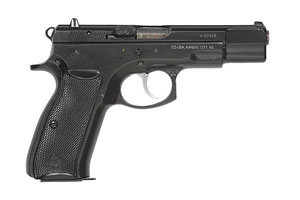 CZ-USA CZ 75 B Black Polycoat Double Action 9MM Black Polycoat