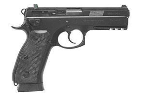 CZ-USA CZ 75 SP-01 Tactical Decocker Double Action 9MM Black Polycoat